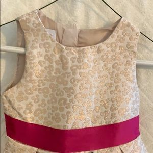 Special Editions Dresses - Girl's gold brocade dress with lining. 5